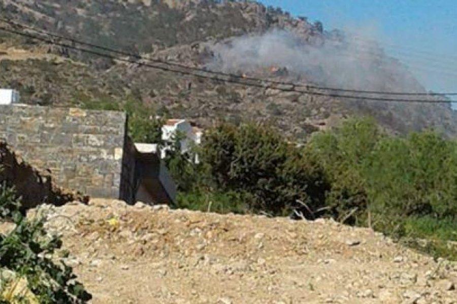 Πυρκαγιά σε ορεινή περιοχή της Κρήτης - Ο αέρας «εχθρός» της επιχείρησης κατάσβεσης